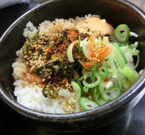 明太マヨ高菜丼ミニ