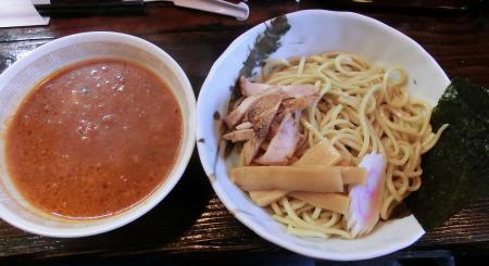 ミートソースつけ麺