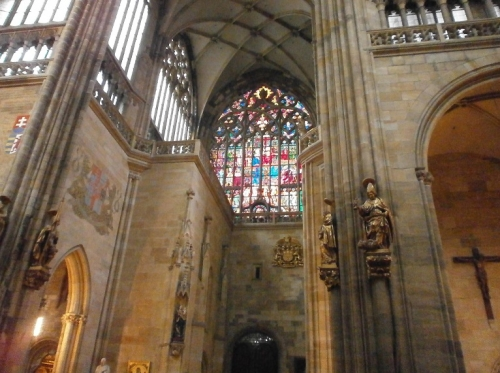 聖ヴィート教会内