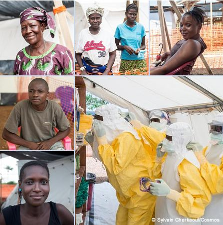 エボラに勝った人々