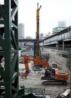 2014116渋谷再開発中1