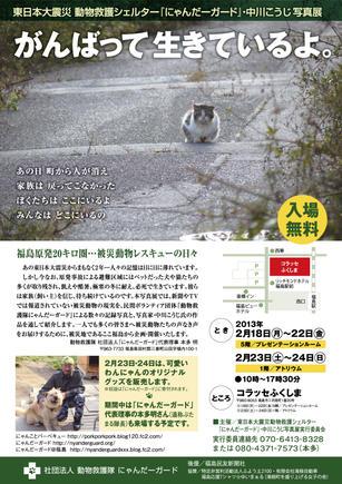 福島写真展チラシ
