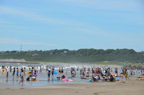 海開き 大洗サンビーチ