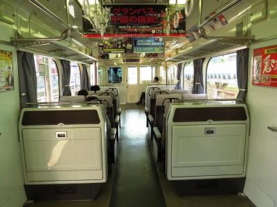 名鉄1384車内