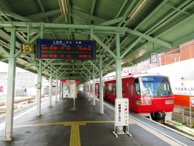 名鉄岐阜駅5・6番線ホーム