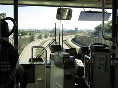 ガイドウウェイバス専用軌道区間