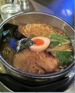 塩ラーメン淡麗スープ!