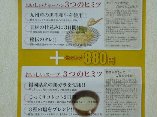 チャーハン王新橋極上チャーハンチャー王セット021