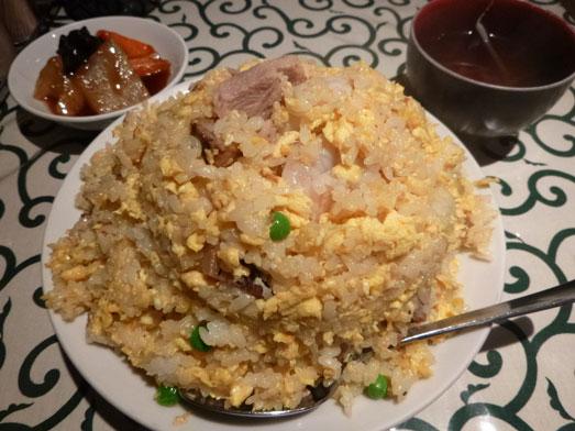 銀座ランチ中国名菜処悟空でチャーハン大盛り010