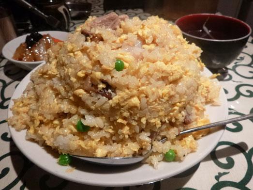 銀座ランチ中国名菜処悟空でチャーハン大盛り011
