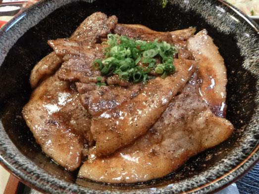 酒亭じゅらく神田店メガ盛りしびれ豚丼001