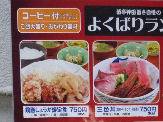 酒亭じゅらく神田店メガ盛りしびれ豚丼008