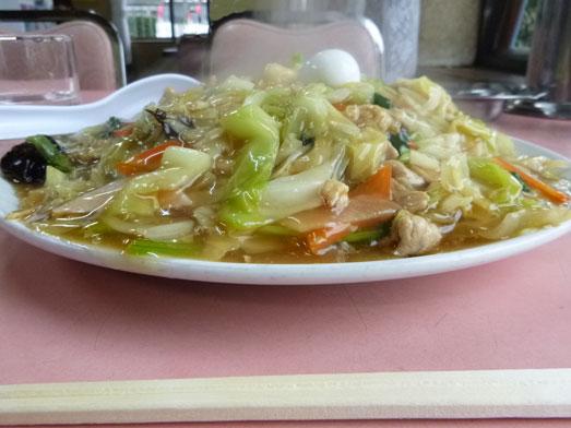 雄華八日市場ランチ中華料理五目やきそば017