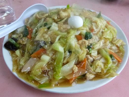 雄華八日市場ランチ中華料理五目やきそば018