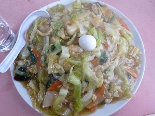 雄華八日市場ランチ中華料理五目やきそば019