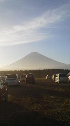 香川コーチの富士山