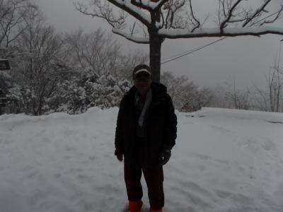 高尾、冬景色