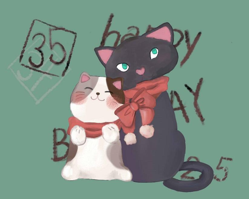 2月5日みー誕生日おめでとう!!