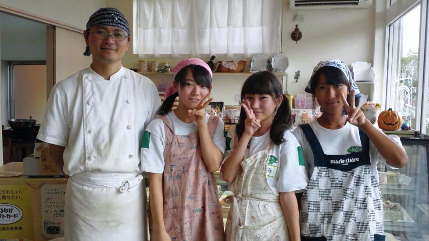 飯島中の生徒とcoto