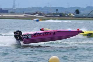 チームアルカディア アリソン パワーボートレース日本グランプリin木曽川