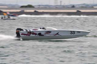 MPAレーシング ロイヤルシャーク パワーボートレース日本グランプリin木曽川