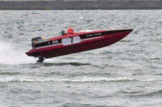 スパイラルレーシング フィジティブユーラーV パワーボートレース日本グランプリin木曽川