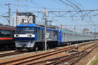 東京メトロ 16000系 甲種鉄道車両輸送