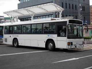 豊田自動織機のバス