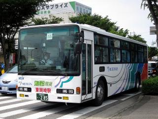 名鉄バスによる蒲郡競艇送迎バス