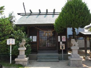 竊樹神社の狛犬