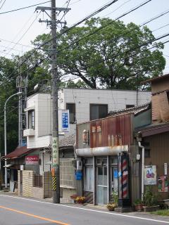岡崎市針崎町東カンジの火の見櫓