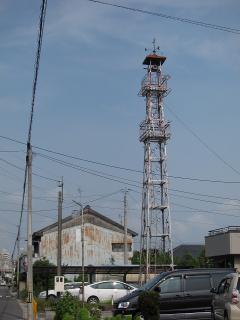 矢作町の火の見櫓