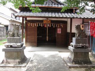 平八稲荷神社の狛犬