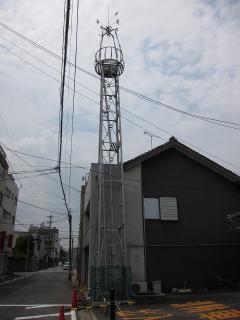 松本町の火の見櫓