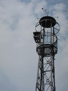 康生通西町三丁目の火の見櫓