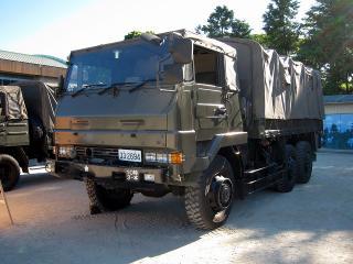 陸上自衛隊 豊川駐屯地 第3大隊 3 1/2tトラック(73式大型トラック)