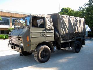 陸上自衛隊 豊川駐屯地 第3大隊 1 1/2tトラック(73式中型トラック)