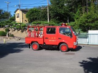 三島消防団 第3部 小型動力ポンプ積載車