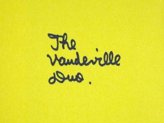 The Vaudeville Duo