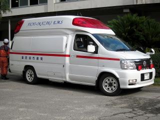 中消防署 本署 中救急2号車(高規格救急自動車)
