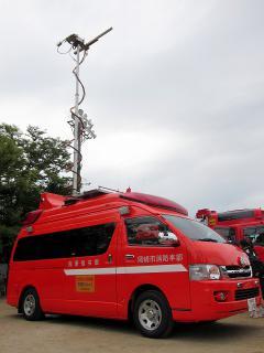 中消防署 本署 指揮指令車