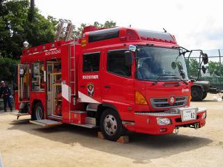 中消防署 本署 中救助工作車(救助工作車) スーパーレスキュー