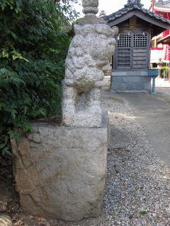 若宮神社の狛犬
