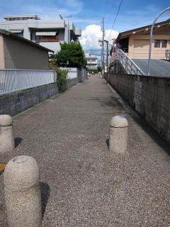 明治用水(柳原用水)の遊歩道
