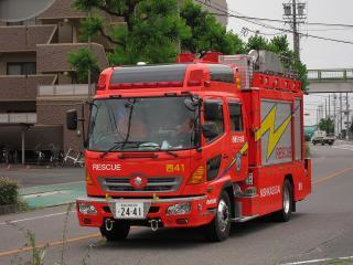西春日井広域事務組合 西消防署 救助工作車(西41)