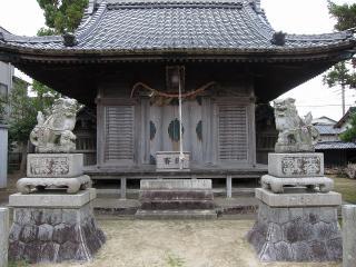 勝淵神社の狛犬