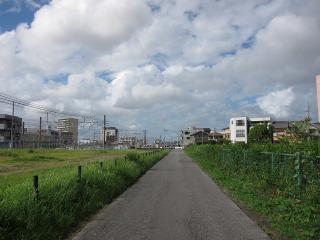 名鉄バス専用道(旧岡崎市内線跡)