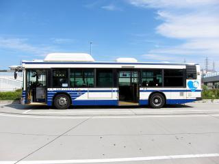 名古屋市交通局 CNG ノンステップバス