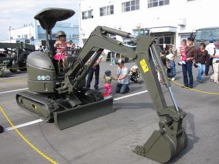 小牧基地航空祭 2012 重機展示
