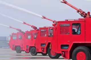 小牧基地航空祭 2012 模擬航空機救難消火訓練展示